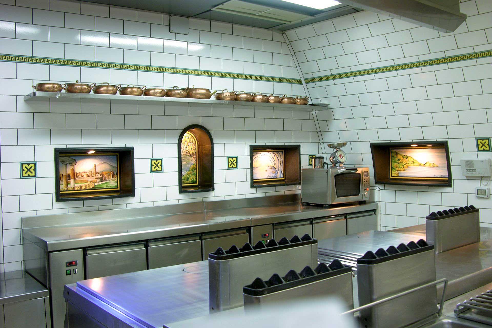 Good Kitchen The Kitchen Ristorante Lantica Trattoria In Sorrento